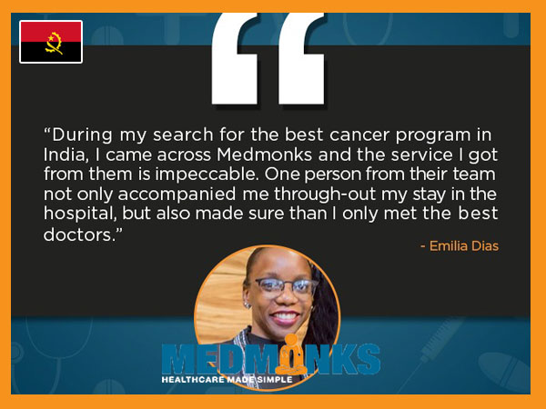 سفر امیلیا به سرطان رایگان است