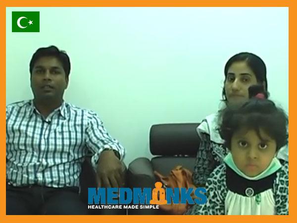 4-ساله دختر-تحت درمان-از-پیفیک-از طریق-کبد-پیوند-در-هند