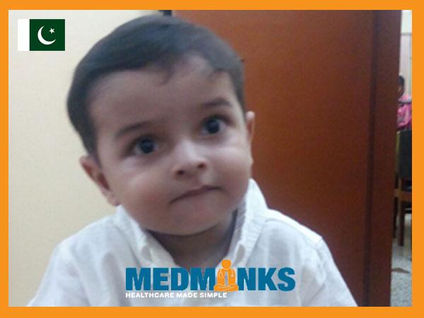دو ساله کاراشی پسر تحت درمان موفق قلب جراحی در هند است