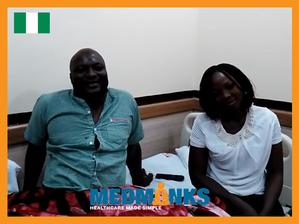 بیمار مبتلا به نگرانی گفتگو در مورد تجربه مثبت در مترو بیمارستان