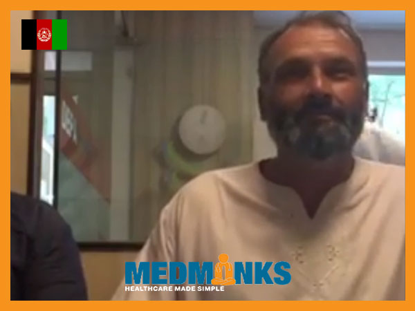 بیمار مبتلا به آلزایمر، تحت عمل جراحی قفسه سینه، در هند است