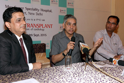 Max Hospital Saket grants heart failure patients with a new lease of life