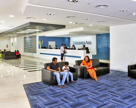 Columbia Osiyo kasalxonasi, Bangalore